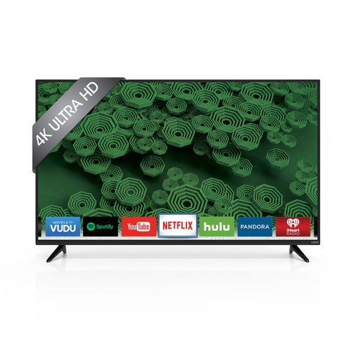 VIZIO D55u-D1 55' Class Ultra HD Full-Array LED Smart TV (Black)