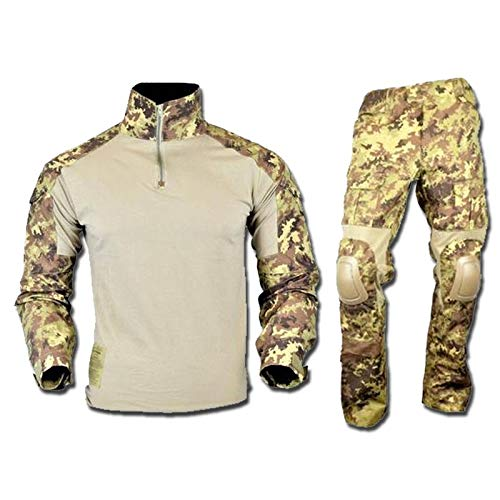 JS-Tactical Uniforme Softair Combat Warrior RIP-Stop JSWAR-TC VEGETATO (Large)