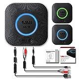 1Mii B06 Plus Récepteur Bluetooth Adaptateur Bluetooth V4.2 tragbare Récepteur sans Fil Adaptateur Audio Appareils fürheim HiFi...