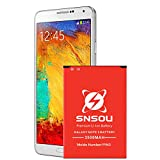 Galaxy Note 3 Battery, SNSOU 3500mAh Li-Ion Battery for The Samsung Galaxy Note 3,N9000,N9005 LTE,AT&T N900A, Verizon N900V, Sprint N900P, T-Mobile N900T, Note 3 Spare Battery