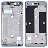 JIANGHONGYAN Piezas de reparación de teléfonos Panel Frontal de la Carcasa del Panel LCD for BQ Aquaris U Lite (Color : Black)