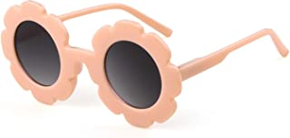 Kids Sunglasses Cute UV400 Protection Glasses Flower XO...