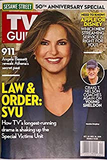 TV GUIDE MAGAZINE - OCT. 28 - NOV. 10, 2019 - MARISKA HARGITAY