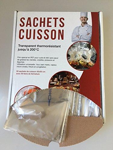 50 sachets cuisson (45, 50)