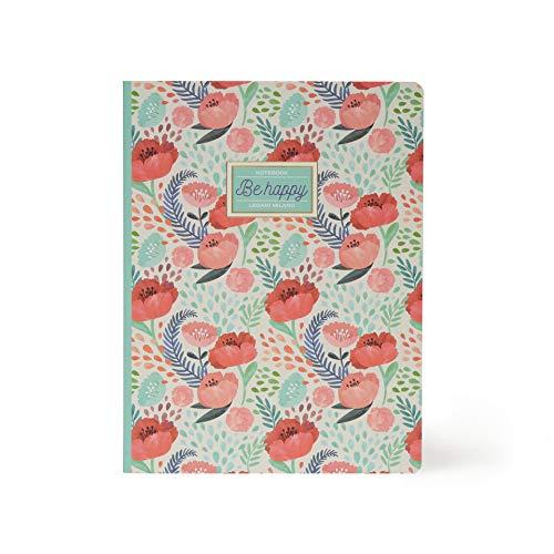 Libreta Legami Flower B5 Cuaderno con tapas duras