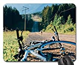 Yanteng Alfombrillas de ratón para Juegos, Alfombrilla de ratón, Bicicleta, Ciclismo, Viaje, Ciclismo, Aventura, al Aire Libre
