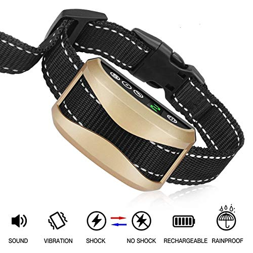 Rechargeable Dog Barking COLLAR BY CASFUY