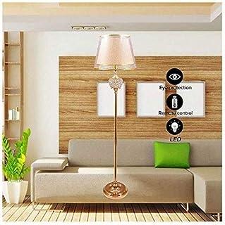 BXZ Lampadaire Simple de Style, Lampadaire Simple de Style Art Déco Led Style Traditionnel, Forme de Lampe en Tissu, Corps...