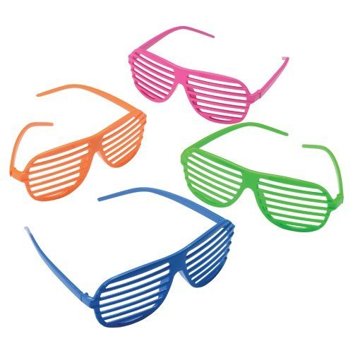 Why Should You Buy NEON TOY SHUTTER SHADES, Sold By Case Pack Of 4 Dozens