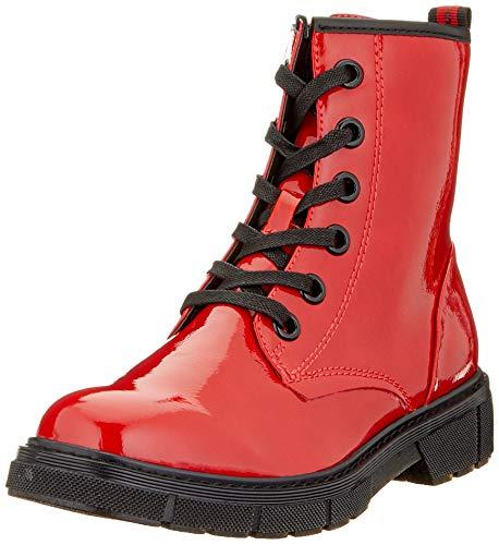 MARCO TOZZI Damen 2-2-25282-35 Stiefelette, Red Patent Comb, 39 EU