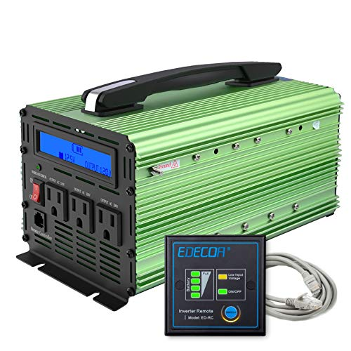 EDECOA 2000W Power Inverter for Boat
