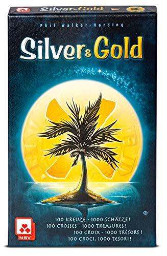 NSV - 4089 - Silver & Gold - International - Kartenspiel