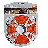0000-930-2340 Trimmer Line .095' (280') Orange 1 Lb Roll