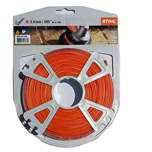 "0000-930-2340 Trimmer Line .095"" (280') Orange 1 Lb Roll"