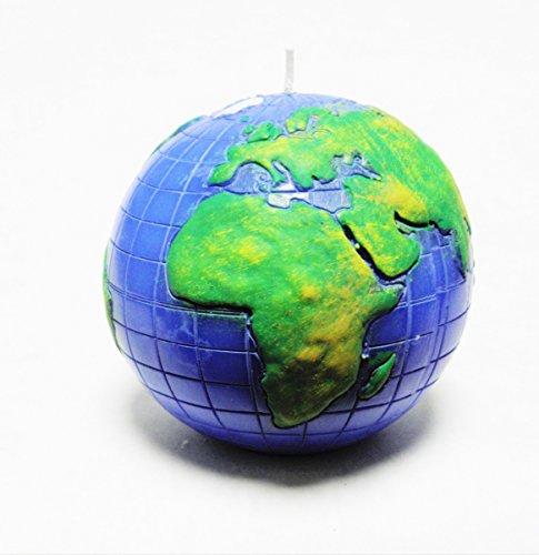 Kerzen Kugelkerze Weltkugel Erde Golbus 100mm Blau/Grün