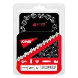 KAKEI Chainsaw Chain 14-Inch.050' Gauge, 3/8' LP Pitch, 52 Drive Links Fits Craftsman/Sears, Poulan, Echo, Homelite, Husqvarna, McCulloch, Worx, Sears, Chicago (1)
