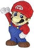 Zenghh 2497Pcs Building Blocks, Mano alzata Bambola Nano Micro mattone di puzzle 3D Giocattoli, Nano-Mini Red Blue Jeans Mario modello fai da te Giocattoli, Soggiorno Ufficio Crafts accessori della de
