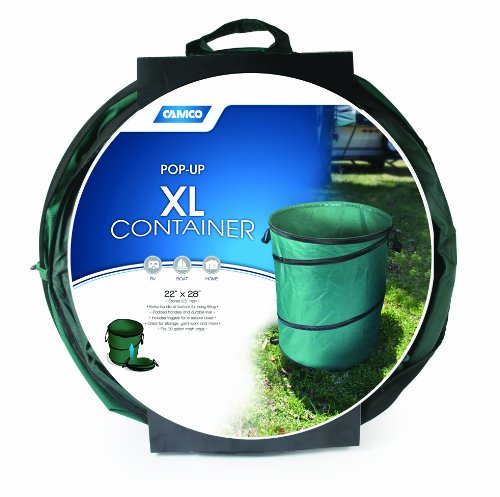 Camco 42895 XL Collapsible Container-22 X 28'