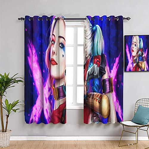 51o4hwaO0NL Harley Quinn  Curtains