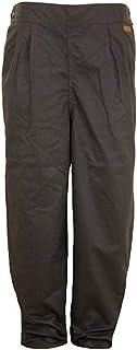 Outback Trading Co Men`s Co. Oilskin Cotton Pants - 2096 BRN