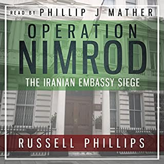Operation Nimrod audiobook cover art