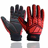 Anti Vibration Gloves, SBR Padding, TPR Protector Impact Gloves, Men...