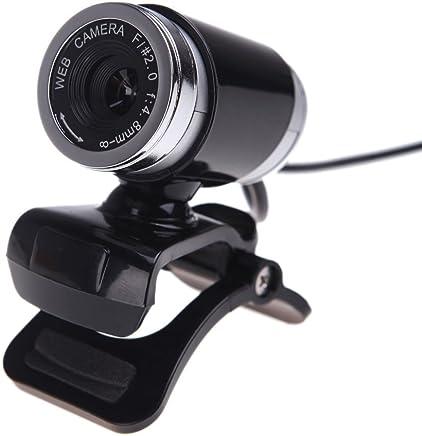 SODIAL(R) USB 2.0 12 Megapixel webcam Videocamera HD telecamera di Sorveglianza Cloud Wireless con microfono clip-on da 360 gradi per desktop Skype PC Computer Portatile-nero - Trova i prezzi più bassi