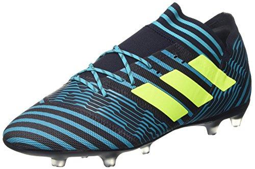 adidas Herren Nemeziz 17.2 Fg Fußballschuhe,Mehrfarbig (Legend Ink /solar Yellow/energy Blue ),42 EU