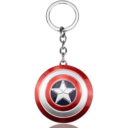 Marvel Captain America Custom Paracord High Quality Lace Keyring UK Avengers