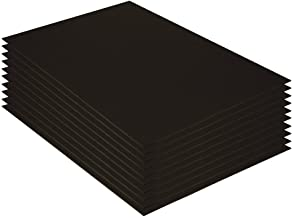 "UCreate Foam Board, Black-on-Black, 20"" x 30"", 10 Sheets"