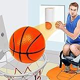 GOODS+GADGETS Mini Toiletten Basketball Set für Klo & WC - Basketballkorb & Bälle fürs Badezimmer