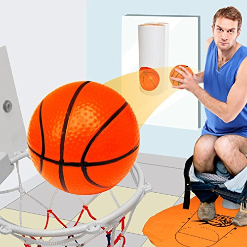Basketball mini-kit pour toilette WC, cadeau basketball