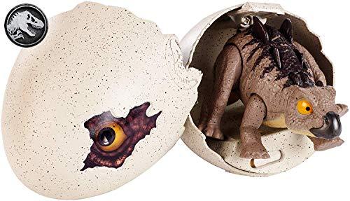 Jurassic World - Stegosauro Uova Schiudi e Gioca, Giocattolo per Bambini 3+ Anni, GFN76