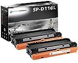 2 Schneider Printware Toner | 60% hohere Reichweite | kompatibel zu Samsung MLT-D116L MLT-D116S für Samsung Xpress M2625 M2675FN M2820DW M2825DW M2825ND M2835DW M2875FD M2875FW M2875ND M2885FW