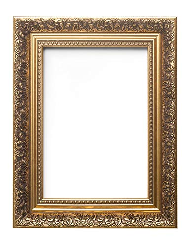 Certificate Frames Ornate Swept Antique Style French Baroque Style Picture