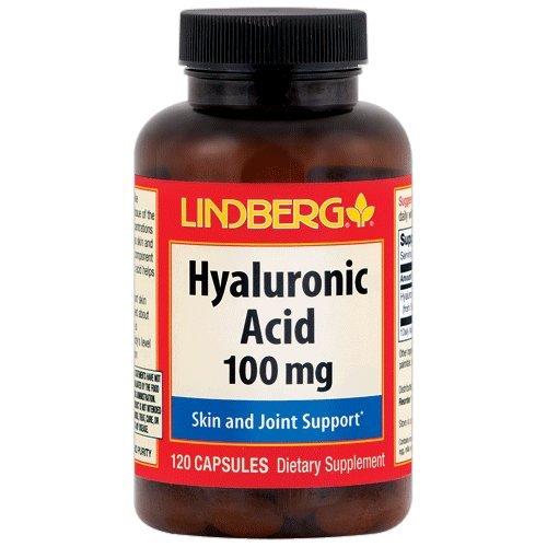 Hyaluronic Acid (Pure, 100 mg, 120 Capsules)