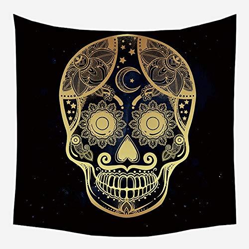 Mandala tapiz brujería astrología manta de sol hippie sala de estar decoración psicodélica tapiz telón de fondo tela a15 180x200cm