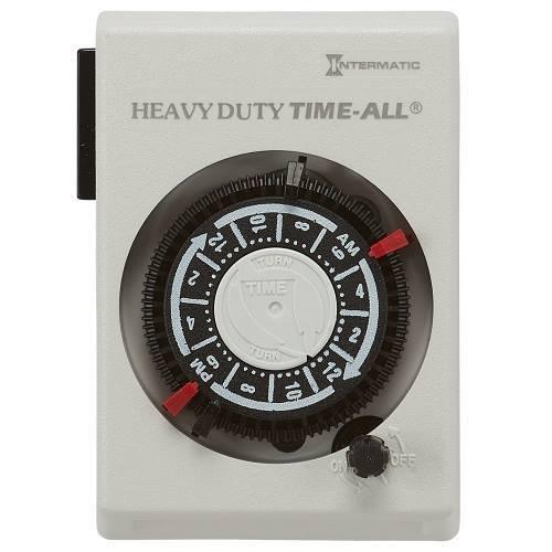 Intermatic HB114C Timer, 240V, White