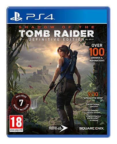 SHADOW OF THE TOMB RAIDER PS4 DEFINITIVE EDITION
