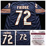 William Perry Signed Autographed Blue FRIDGE Jersey JSA COA - Chicago Bears Great