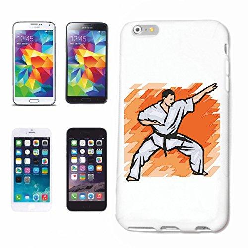 Funda para teléfono móvil compatible con iPhone 7 Karate Judo Fight Mega Sports Hobby Caso Carcasa Carcasa Smart Cover