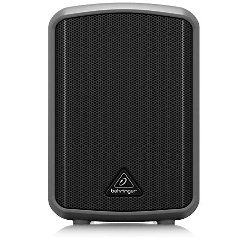 BEHRINGER MPA30BT All-in-One Portable 30-Watt Speaker with Bluetooth Connectivity and Battery Operation Black