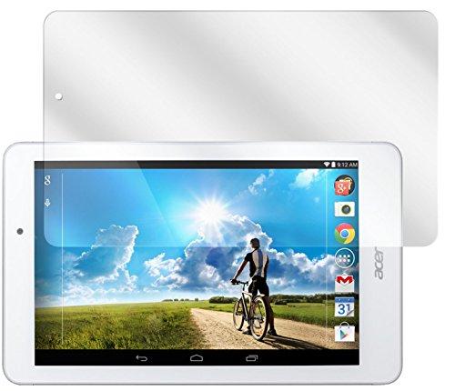 dipos I 2X Schutzfolie klar kompatibel mit Acer Iconia Tab 8 A1-840FHD Folie Bildschirmschutzfolie