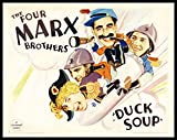 Duck Soup Marx Brothers Movie Poster FRIDGE MAGNET 3.5 x 4.5 Large