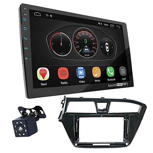 UGAR EX10 9 pollici Android 10.0 DSP Navigazione GPS per Autoradio + 11-578S Kit di Montaggio compatibile per HYUNDAI i-20 2014-2018