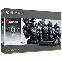 Xbox One X (Gears 5、Gears of War 1,2,3,4 ダウンロード版 同梱)