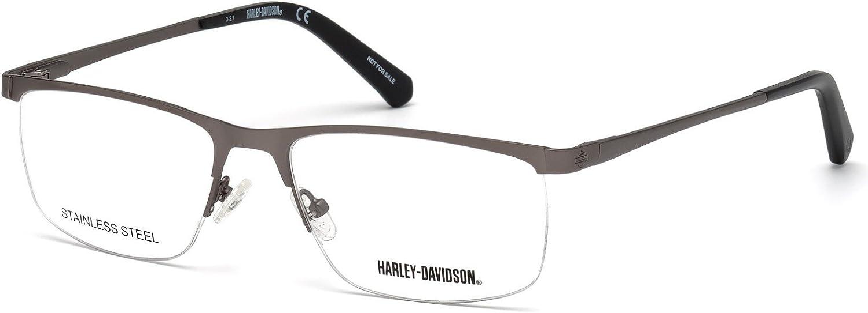 Eyeglasses Harley-Davidson HD 0778 Outlet sale feature matte Max 49% OFF 009 gunmetal