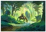 T Poster Link Zelda Breath of The Wild (E) - A3 (42x30 cm)