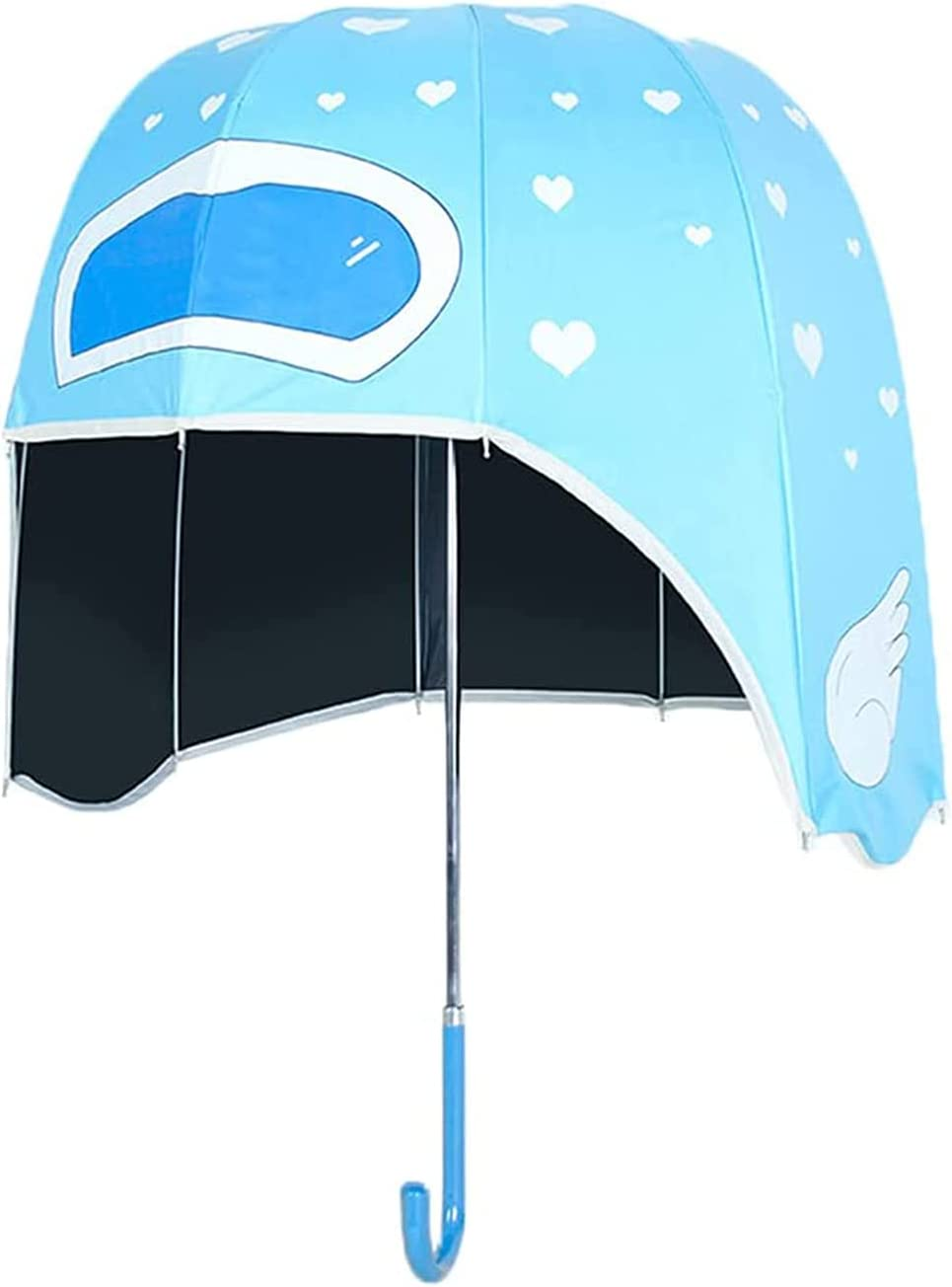 LJSF Helmet Umbrella Clear Japan Maker New Stick Bubble Animer and price revision Windproo Dome