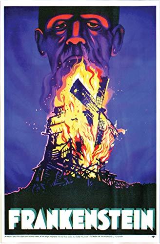 Morris Fantasias PM11380 Frankenstein Poster Cling